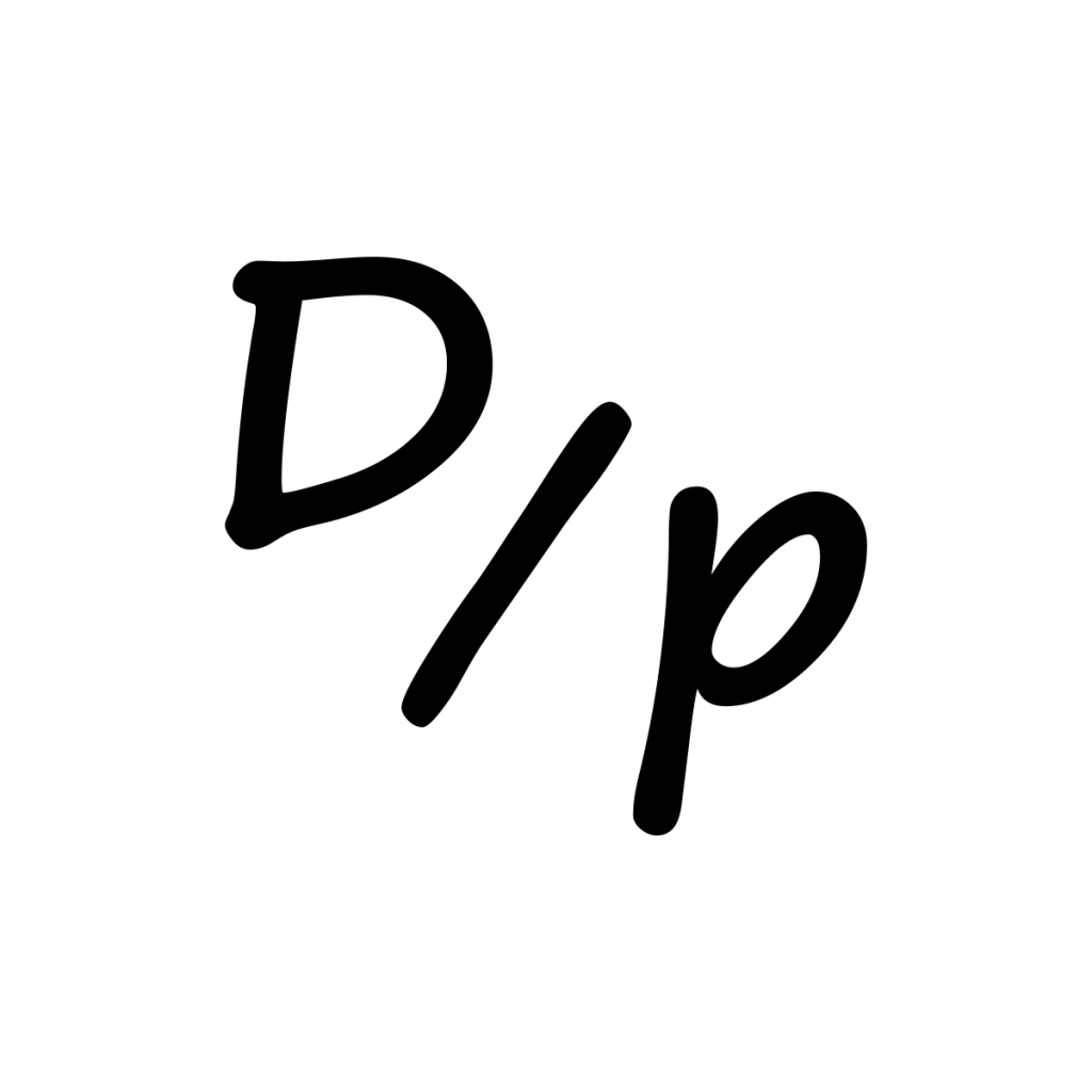 Steve's formula for under promise and over deliver is a capital D over a lower case p