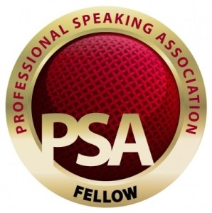 Professional Speaking Association Fellow Logo